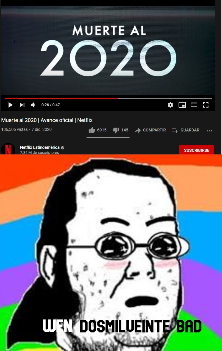 Wen 2020 bad :greek: :rainbow: - meme