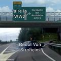 Alala, sacré Stroheim