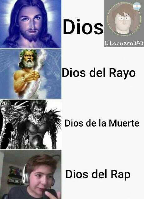 Original de dioses - meme