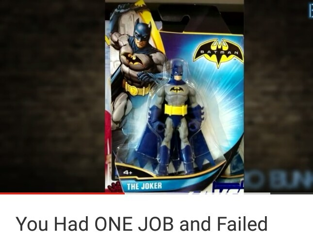 ARE WE GONNA IGNORE THE FACT THAT THE PACKAGE SAYS THE JOKER - meme