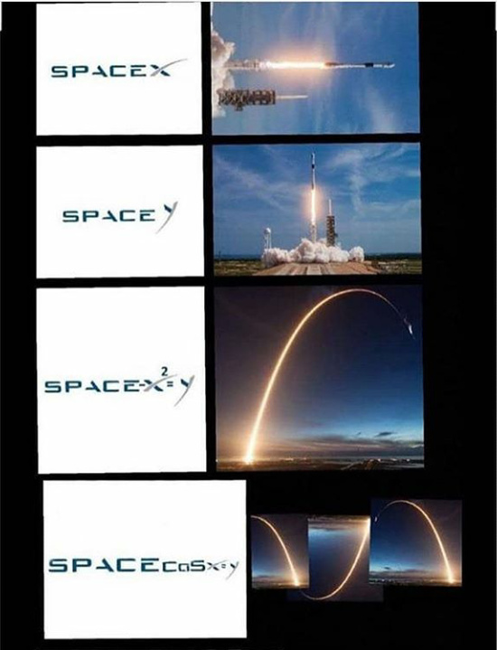 Space X going crazy tho..... - meme