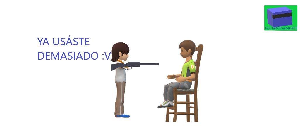¡BASTA DE :V! - meme