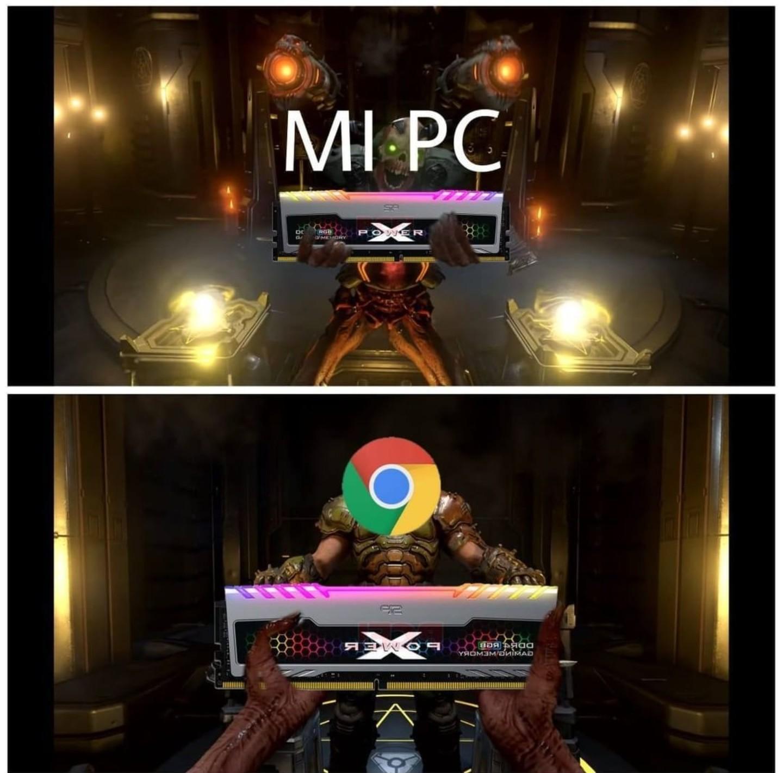 Es una memoria Ram - meme