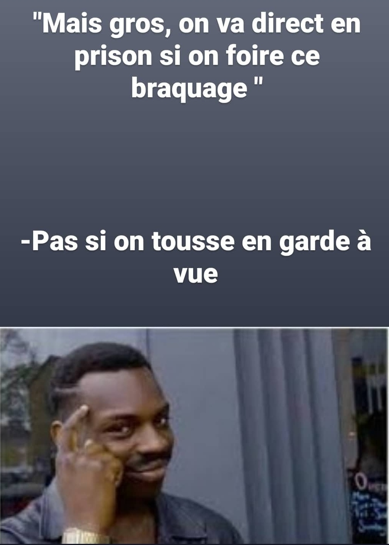 """Le Covid c'est la carte """"sortez de prison"""" du monopoly (CRÉDITS : PsyckoSauce) - meme"""