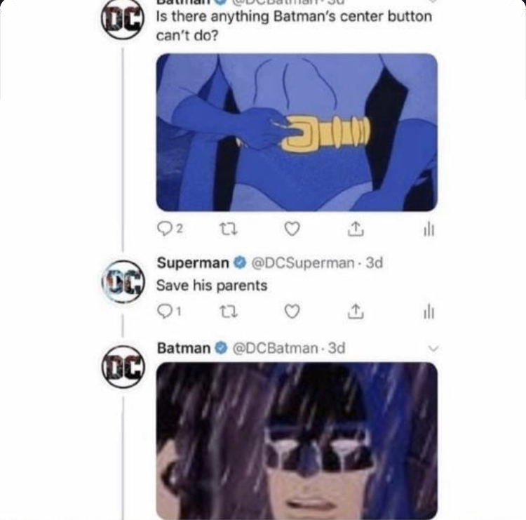 Rip Batman - meme