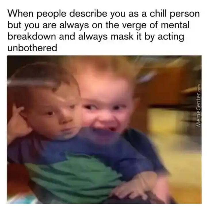 Calm - meme