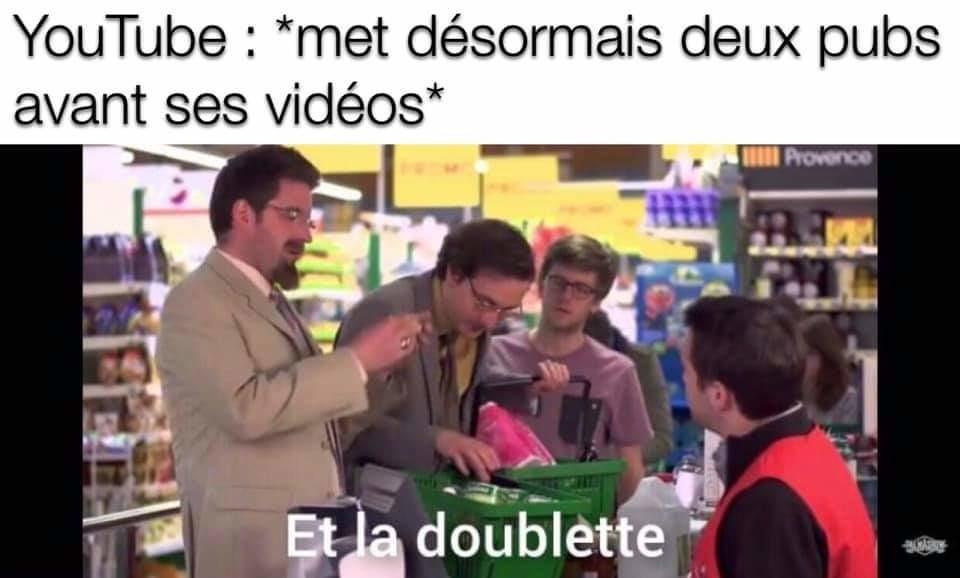 YouTube premium c'est la vie *_* - meme