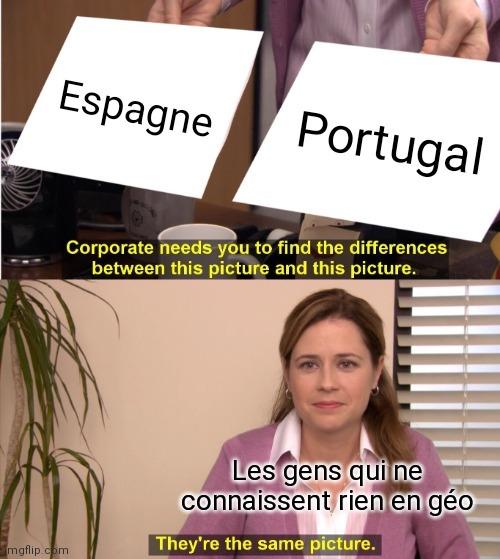 La géographie c'est trop bi1 - meme