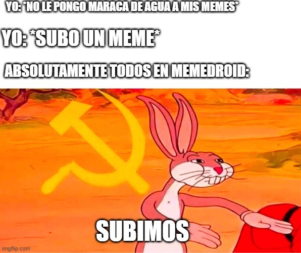 Bugs comunista - meme