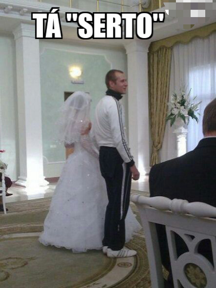 nem queria casar mesmo... - meme