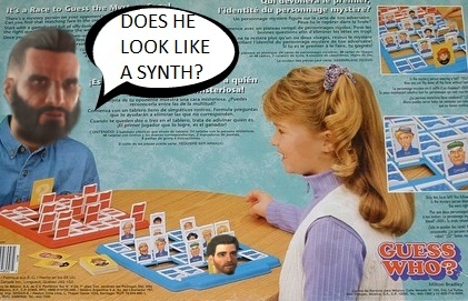 I fight for synth rights - meme
