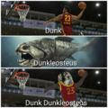 Dunk Dunkleosteus beautiful dunk
