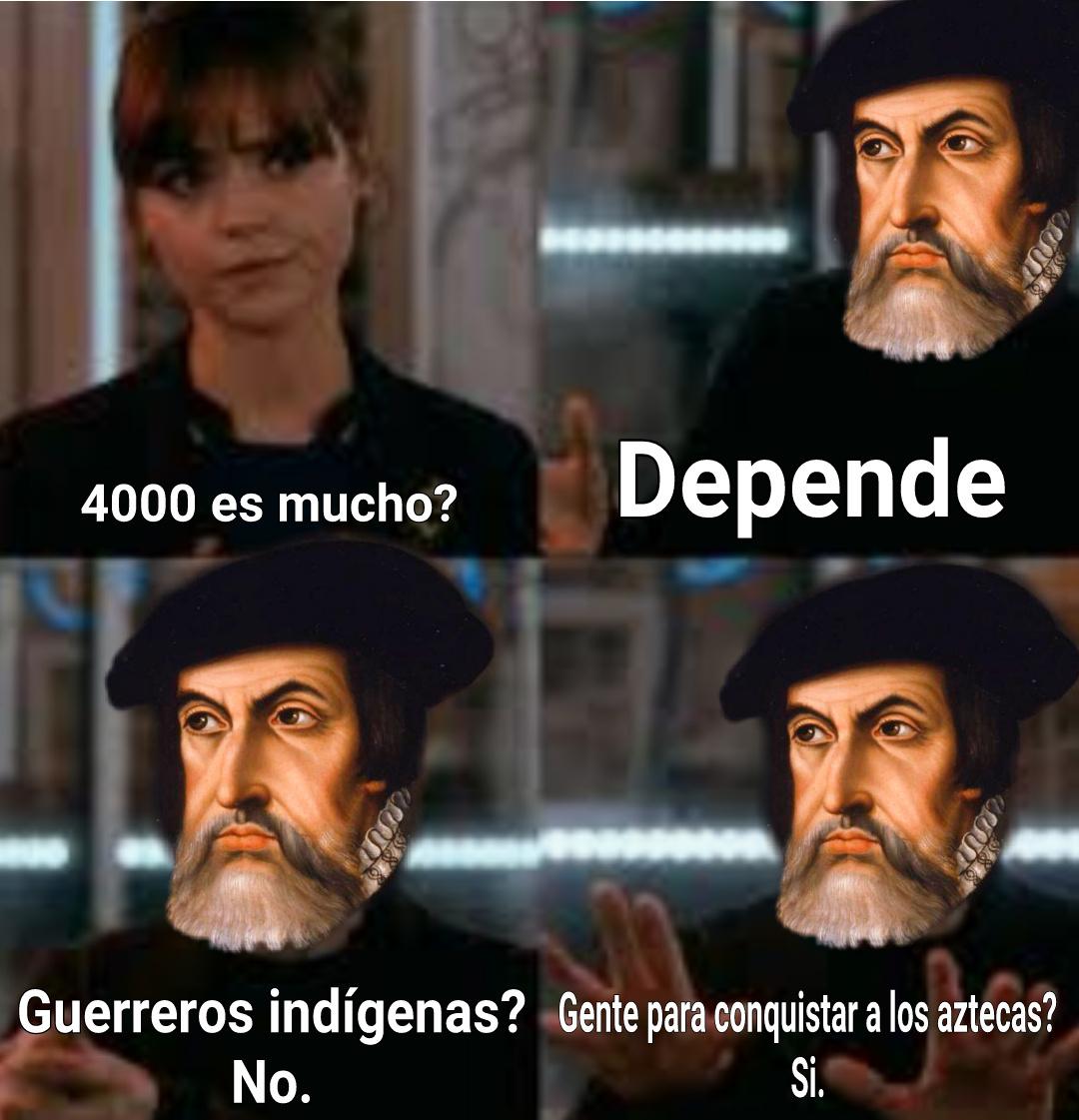 Este Hernán Cortés - meme