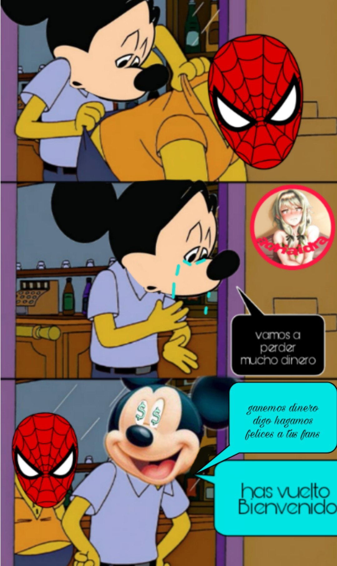 Yo:Spiderman ha vuelto       nadie:ok - meme