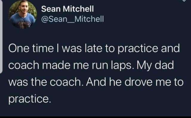 Coach/Father of the year - meme
