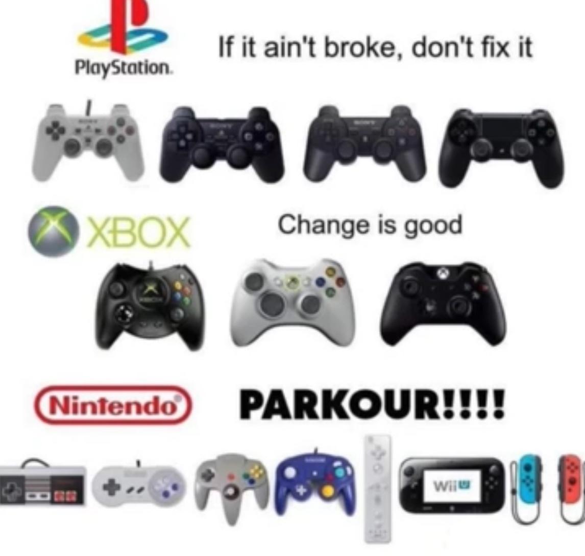 Parkour - meme