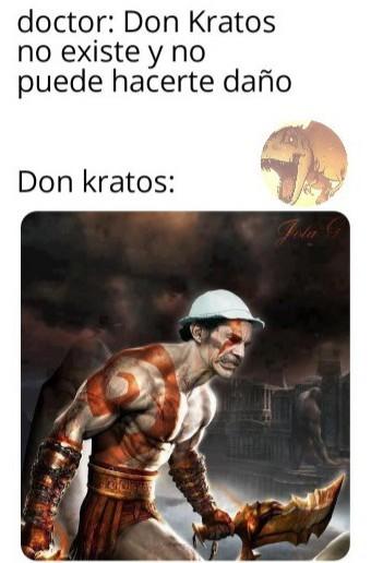 Don Kratos - meme