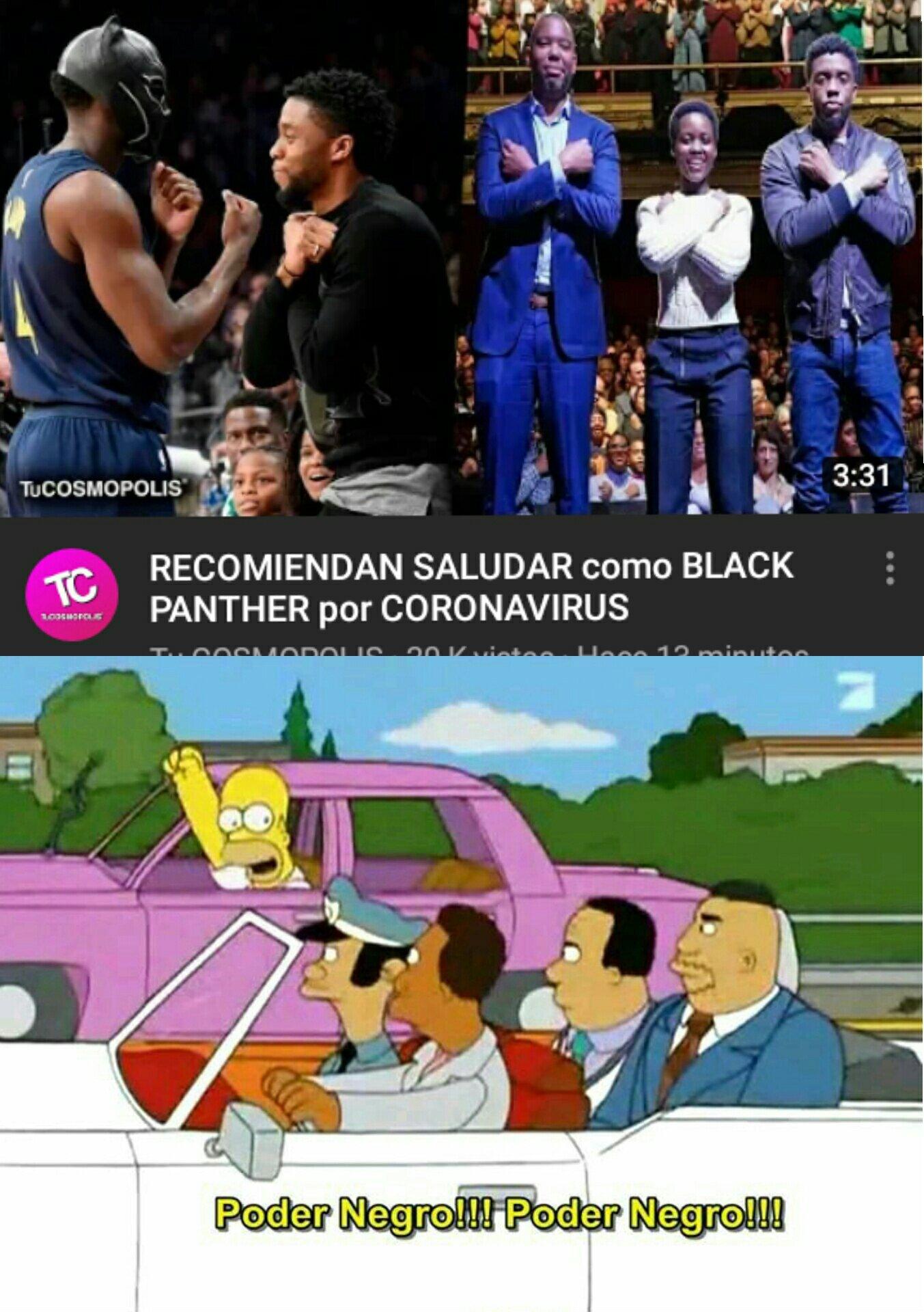 Poder negro - meme