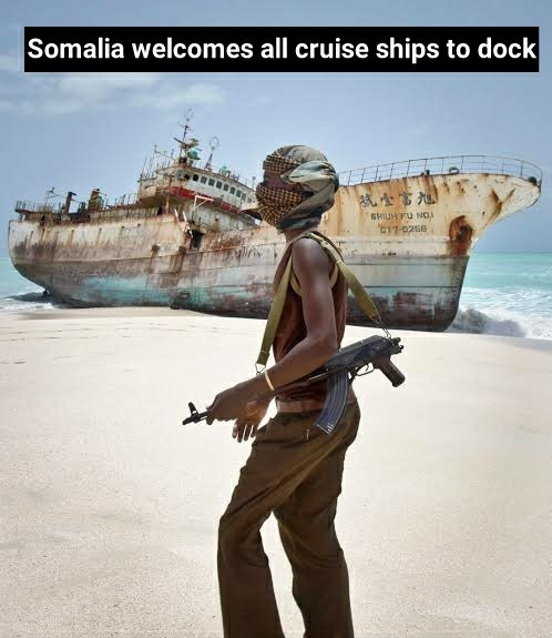 Somalian Pirate Stonks! - meme