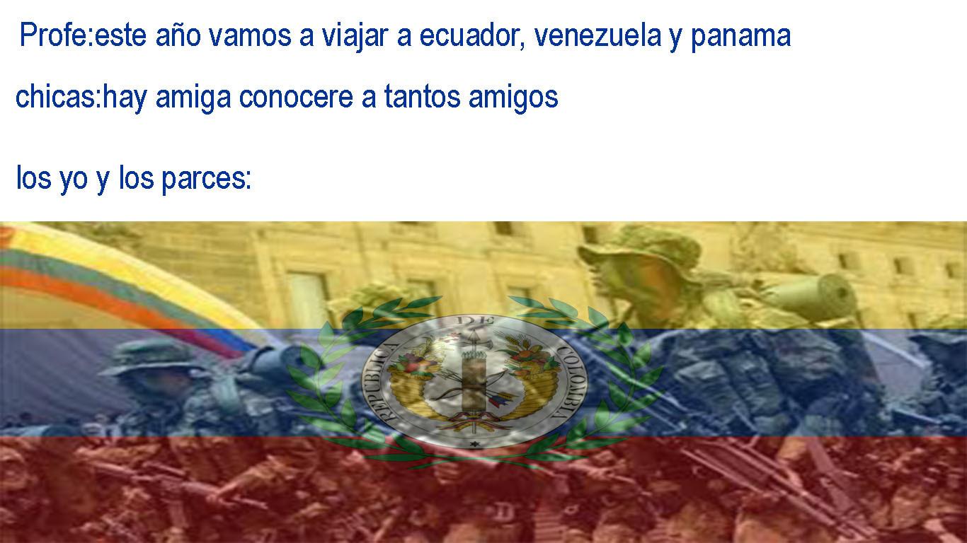 Viva la Gran Colombia - meme