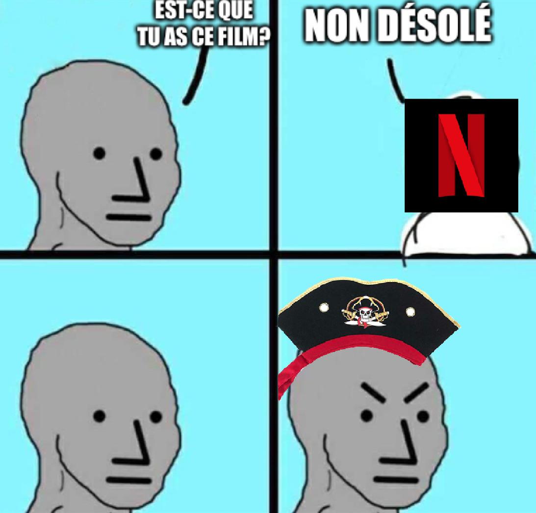 Yo-ho yo-ho, vive la piraterie! - meme