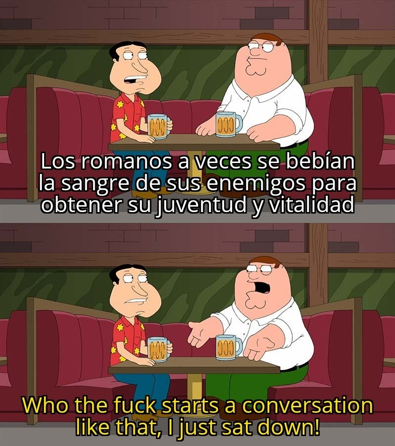 """Que.. el que siga """"so"""" es gay - meme"""