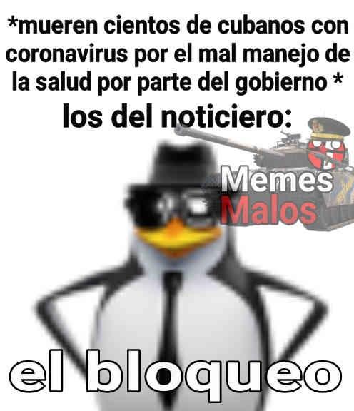 el bloqueo:son: - meme