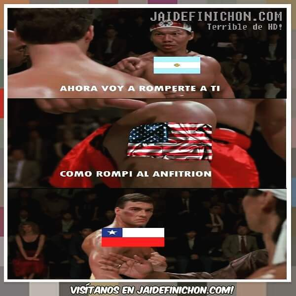 Chile vs argentina (negros envidiosos) - meme