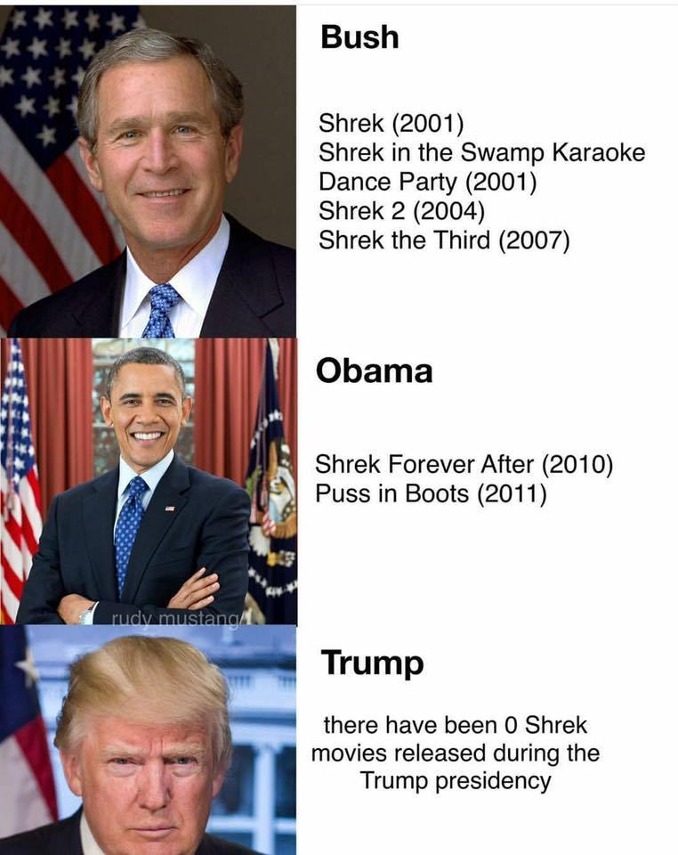 Say what you want about trump, but this is serious! - meme