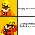 This is what The Lego Movie learn too us