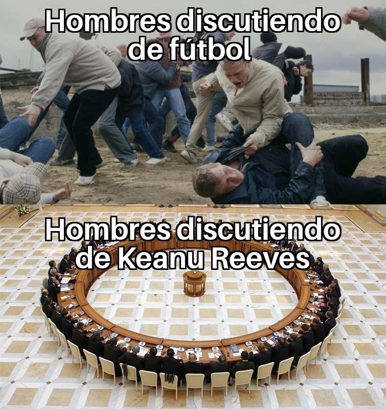2019 = fútbol < Keanu - meme