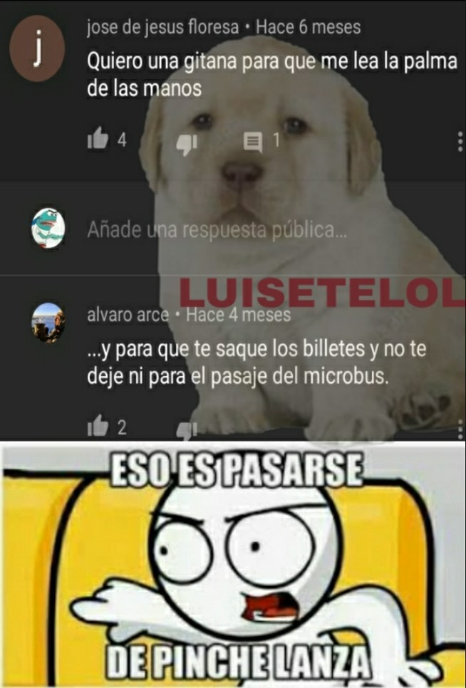 Muy inaceptable xd - meme