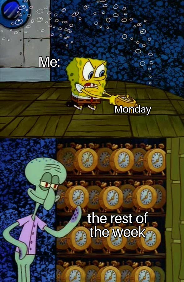 I hate mondays - meme