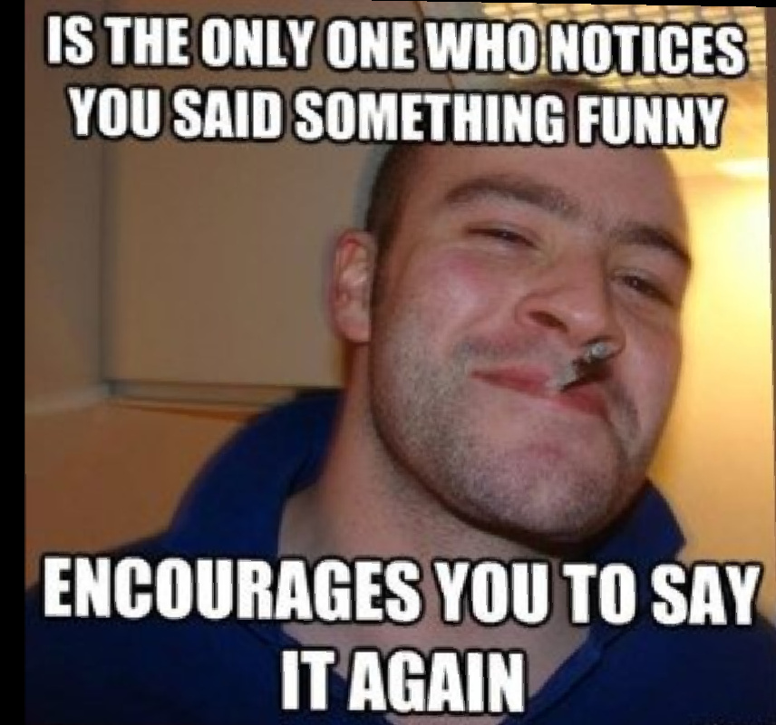 Good guy greg - meme