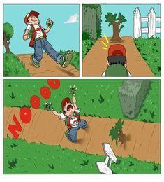 logica de pokemon - meme