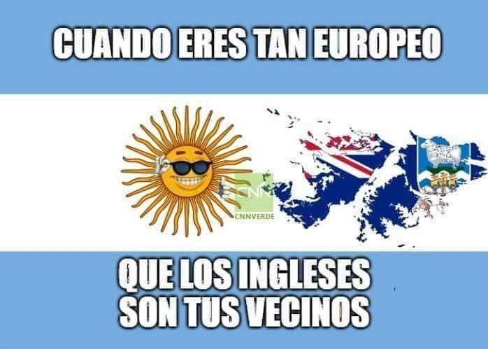 Que grandes que somos los argentinos - meme
