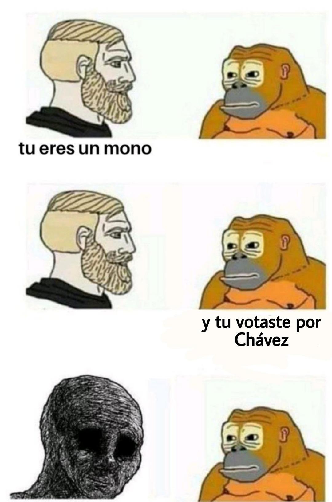 Mono basado - meme