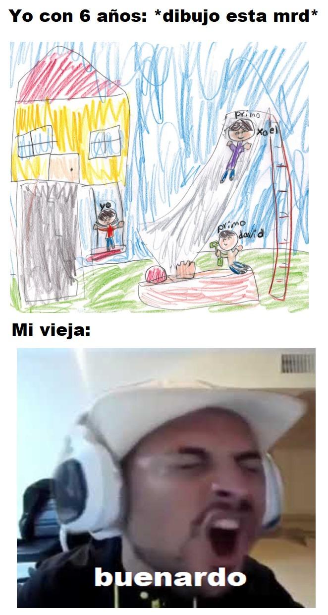 Meme echo en paint