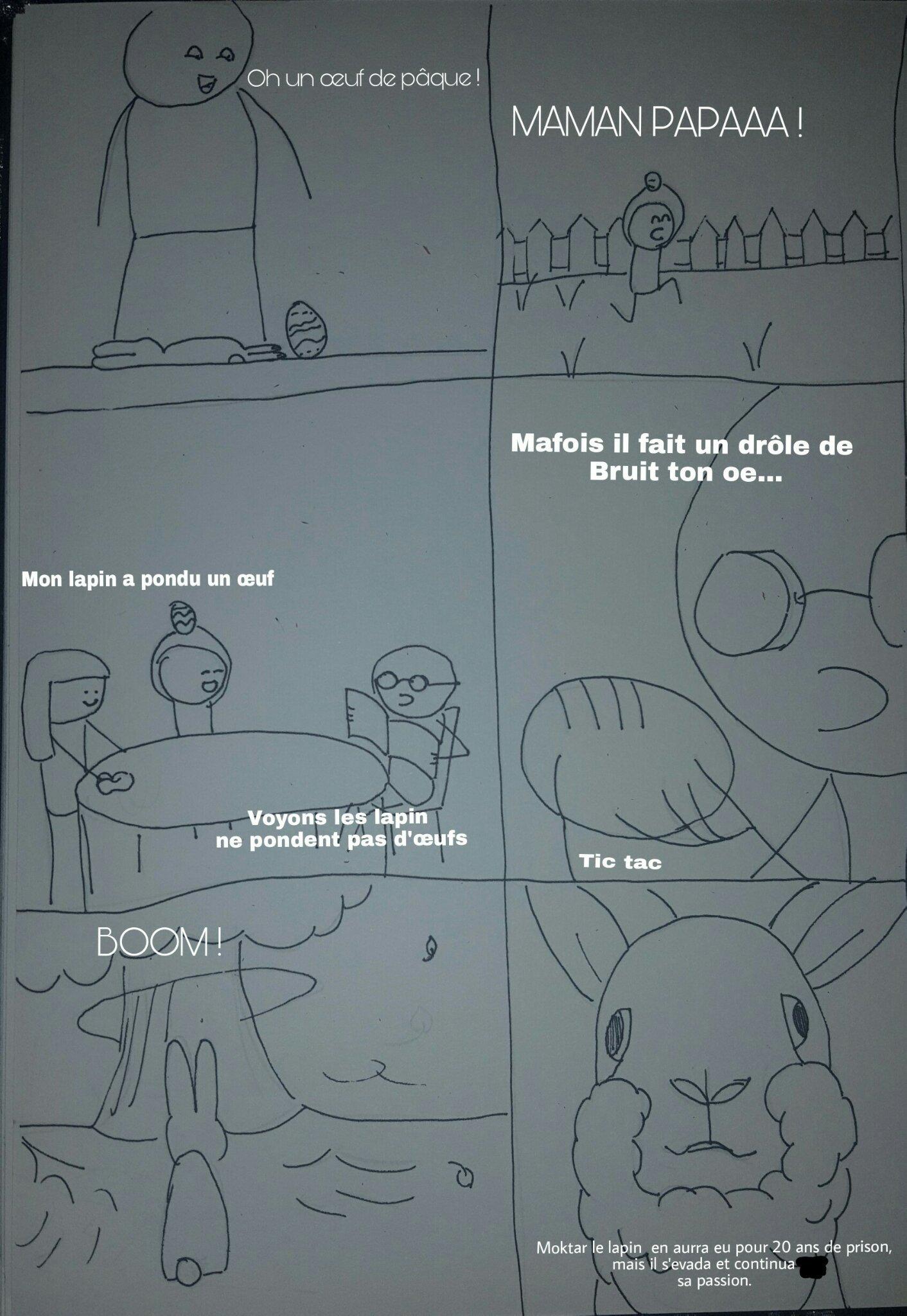 Moktar le lapin By momo