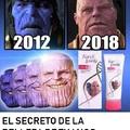 El secreto de la belleza de Thanos