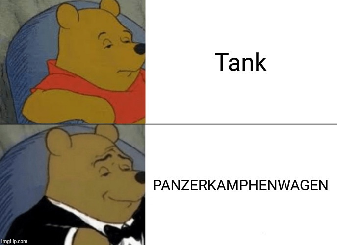 German in a nutshell - meme