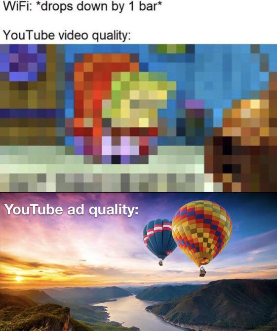Fucking Youtube ads - meme