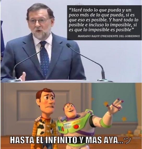 Las máquinas de Rajoy - meme