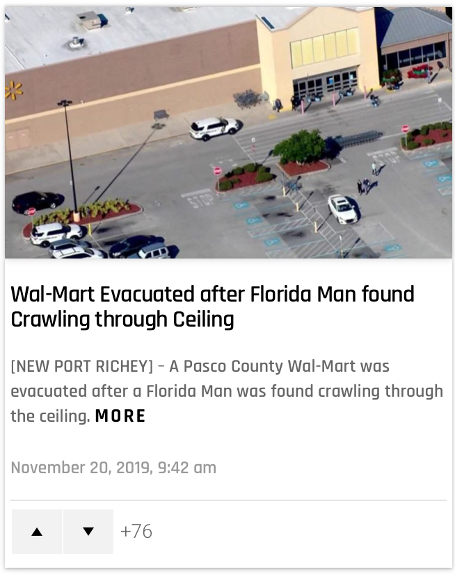 Florida man: revenge of the Florida - meme