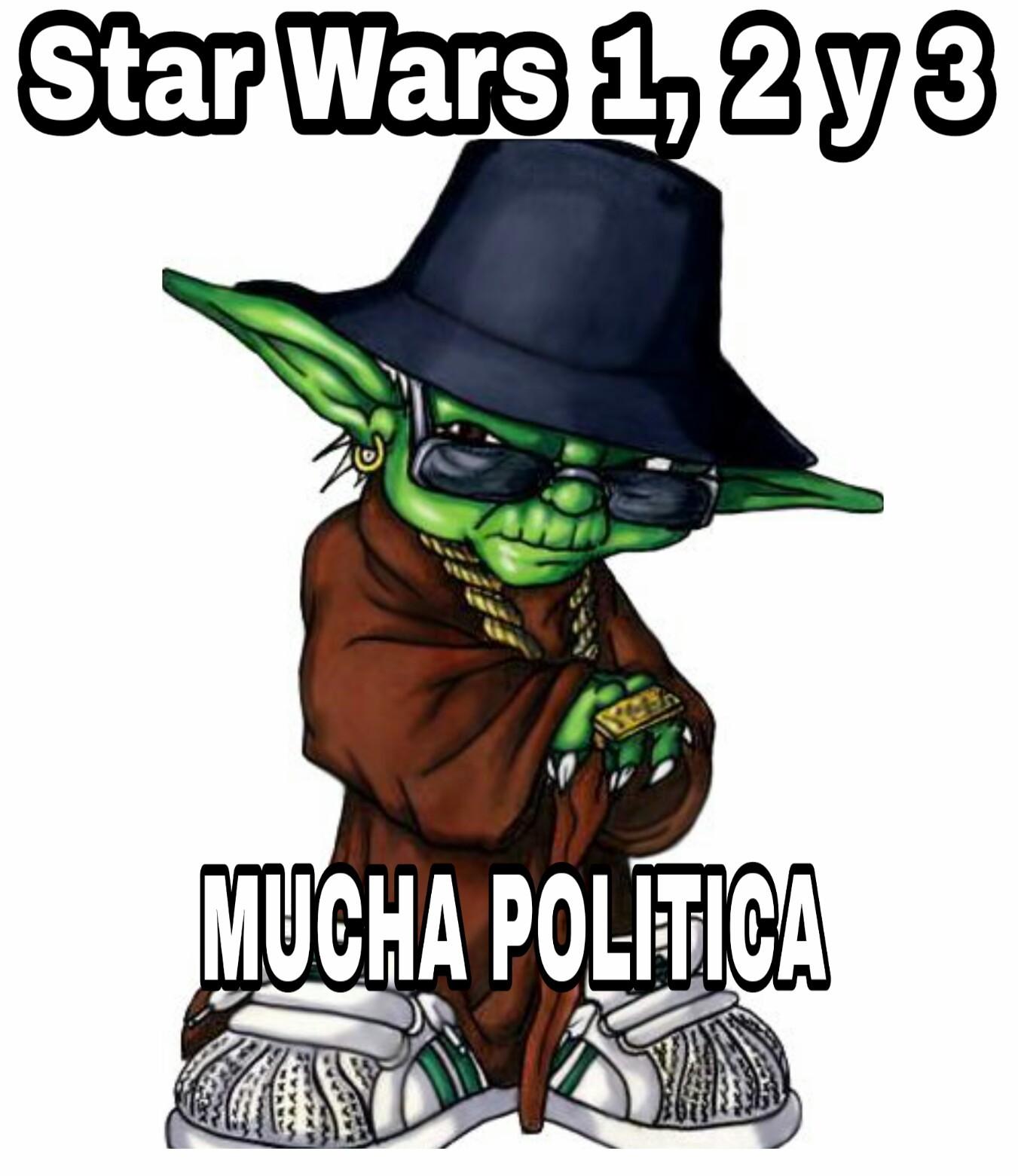 Mucha politica - meme