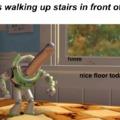 dang, that floor be lookin nice