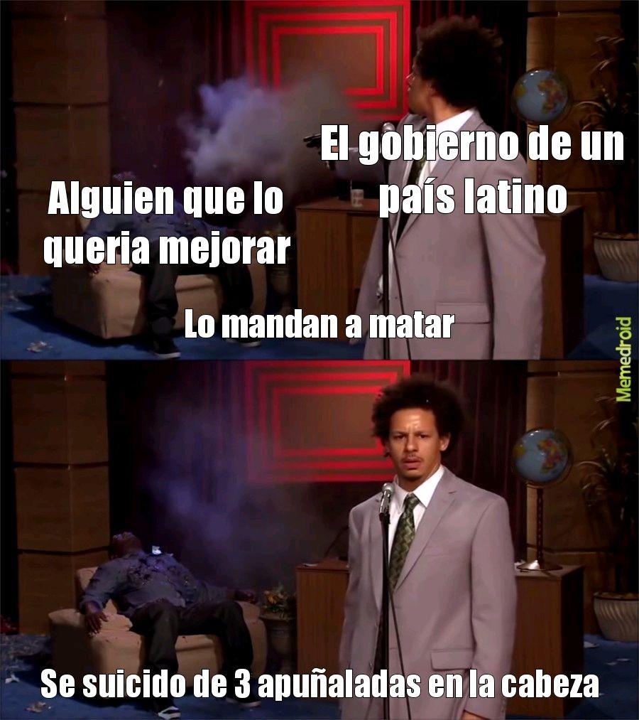 Latinoamerica be like - meme