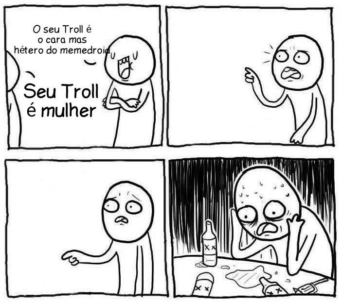 Querem o número do(a) seu troll? - meme
