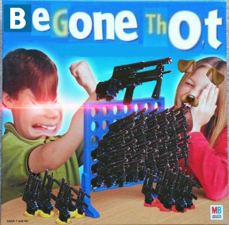 Delet the thots - meme