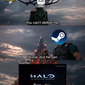 HALO ON STEAM HOLY FUCK!!!!
